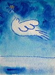 Dove (reproduced as a unicef card)