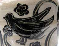 Detail from pot